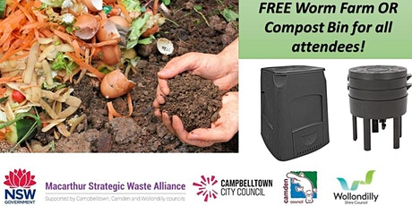 Worm Farming & Composting @ Wollondilly tickets