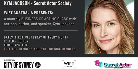 BUSINESS OF ACTING - SERIES - with Kym Jackson tickets