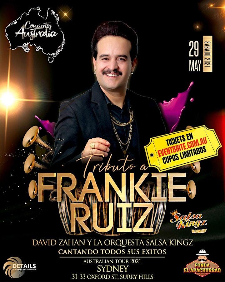 David Zahan Tributo a Frankie Ruiz SYDNEY image