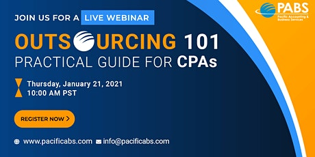 Outsourcing 101: Practical Guide for CPAs tickets