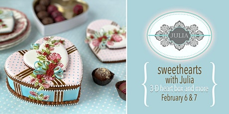 Sweethearts Cookie Decorating Class with Julia M. Usher tickets