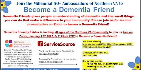 Dementia Friend VA Training- tickets