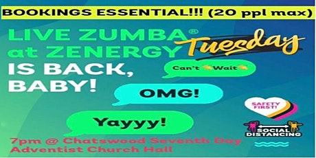 Zenergy Zumba with Leela tickets