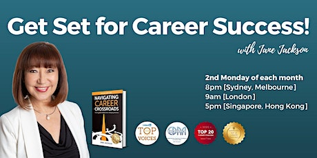 Get Set for Career Success!  Group Career Coaching Virtual 'LIVE' Events tickets