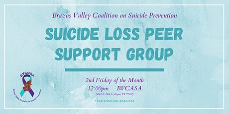 Suicide Loss Peer Support Group tickets