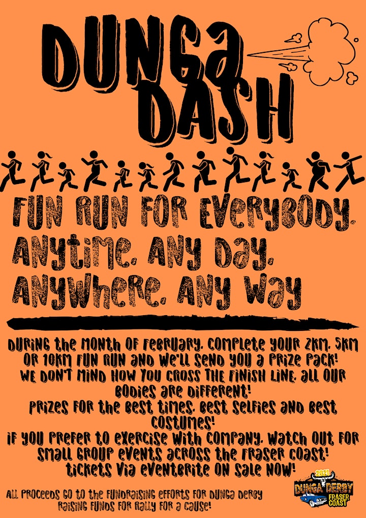 Dunga Dash Family Fun Run - Raising Funds for Dunga Derby - HEAPS OF EVENTS image