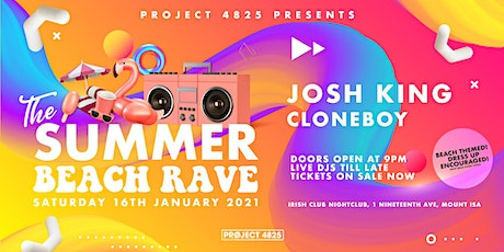 Project 4825: Summer Beach Rave tickets