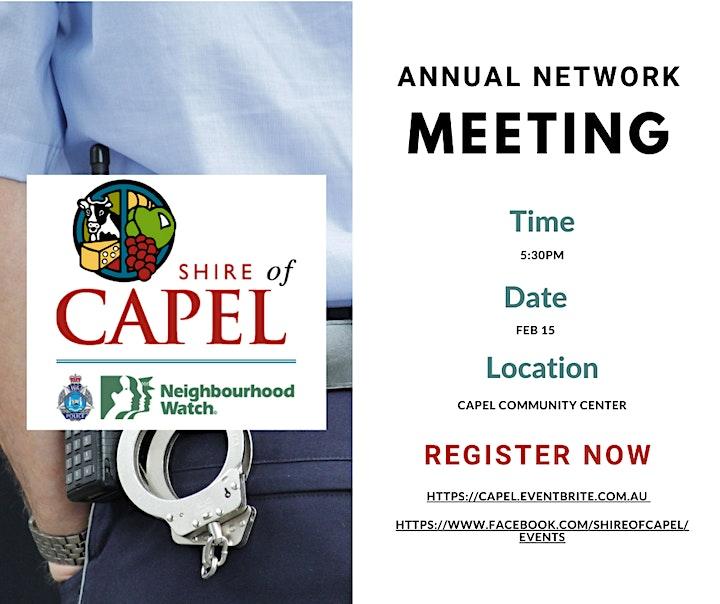Neighbourhood Watch Annual Network Meeting image