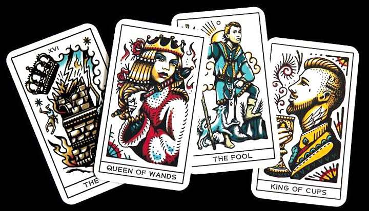 Queen of Wands Psychic Fair at Klemzig image