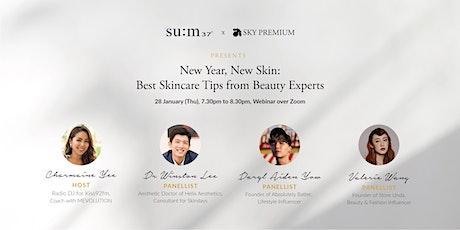 su:m37° x Sky Premium: New Year, New Skin - a skincare webinar tickets
