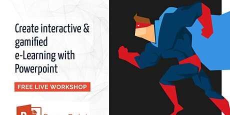 PowerPoint-based Gamification eLearning Workshop tickets