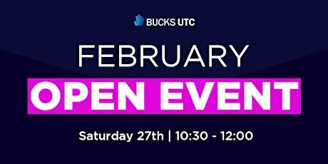 Bucks UTC Virtual Open Event (February) tickets