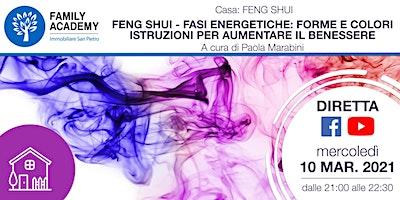 FENG SHUI:FASI ENERGETICHE–FORME,COLORI-ISTRUZIONI X AUMENTARE IL BENESSERE