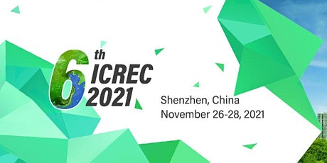 The 6th Intl. Conf. on Renewable Energy and Conservation (ICREC 2021) tickets