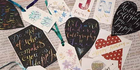 Modern Calligraphy Talk and Demonstration with Jane Lappage via Zoom tickets