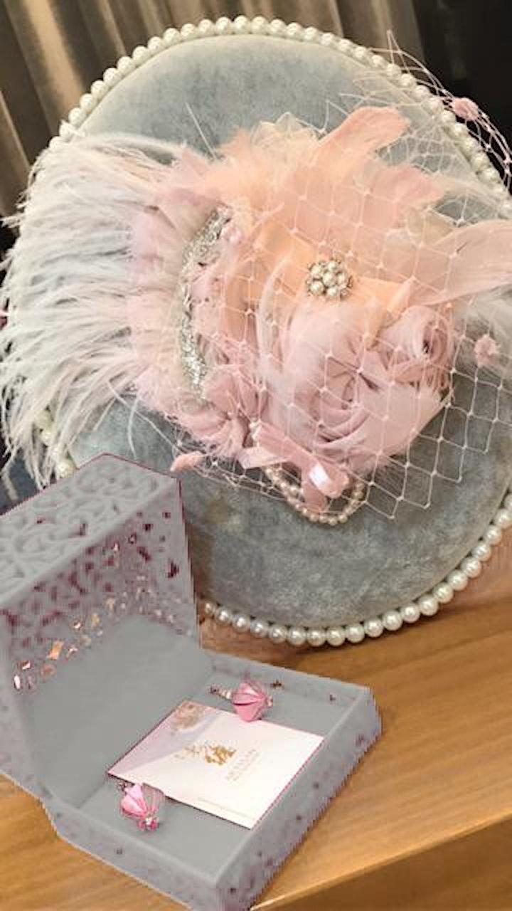 Luxury Headpiece Workshop - 8 hrs DIY Ballerina (2021) image