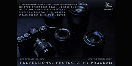 Professional Photography Program - Long Distance tickets