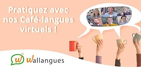 Café-langues virtuel (FR) - Wallangues billets