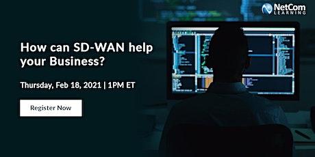 Webinar - How can SD-WAN help your Business? tickets