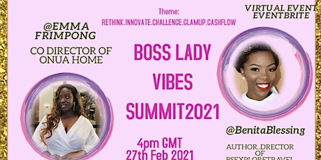 BOSS LADY VIBES 2021 SUMMIT tickets