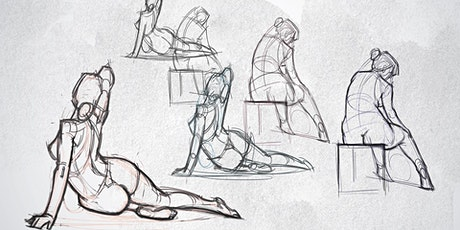 Life Drawing Class : Beginners Charcoal ~Tone and shade tickets