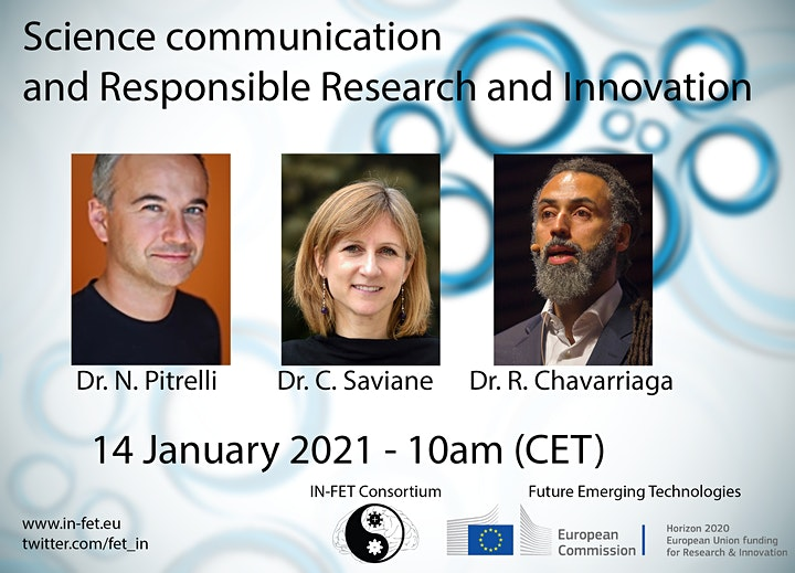 IN-FET Workshop on Communication and Responsible Research and Innovation image