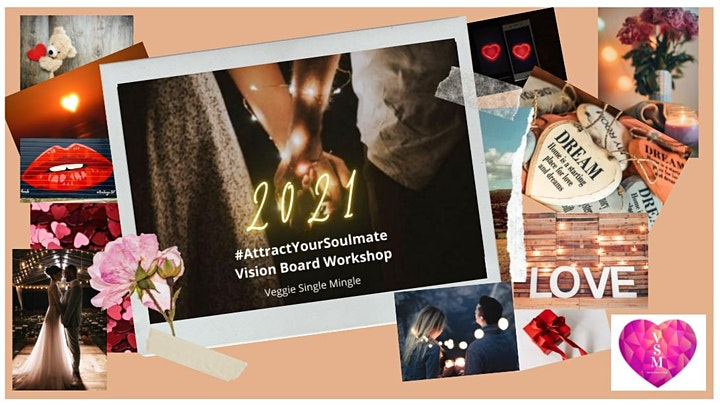 Attract your Soulmate Vision Board Workshop image