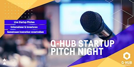 Q-HUB Startup Pitch: Unternehmer trifft Startup Tickets