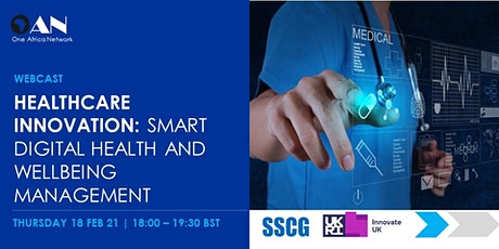 Healthcare Innovation - Smart Digital Health and Wellbeing Management Tickets