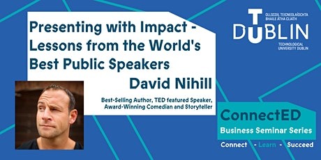 Presenting with Impact - Lessons from the World's Best Public Speakers tickets