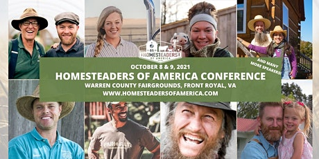 2021 Homesteaders of America Conference tickets