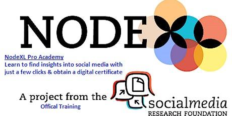 Social Media Research: Social Network Analysis Using NodeXL (Feb) tickets