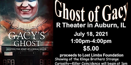 The Ghost of Gacy at the R Theater tickets