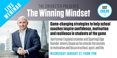 The Cricketer presents The Winning Mindset tickets