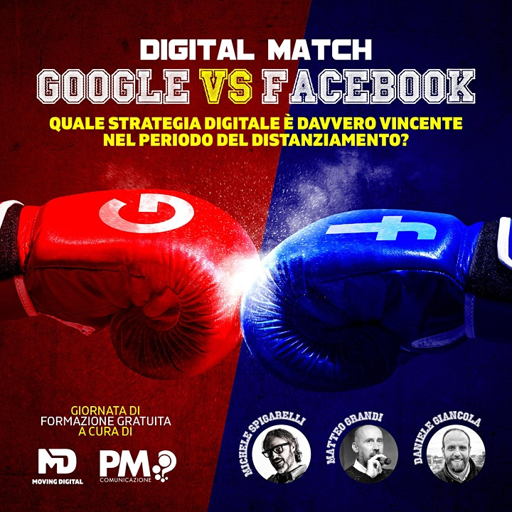 Immagine DIGITAL MATCH. Google VS Facebook.