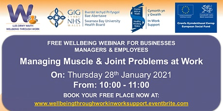 Managing Muscle and Joint Problems at Work tickets