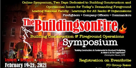 The BuildingsonFire Symposium on Buildings and Fireground Operations tickets