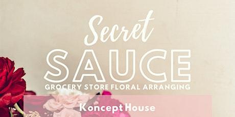 The Secret Sauce tickets
