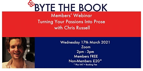 Turning Your Passions Into Prose with Chris Russell tickets