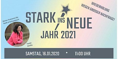 STARK ins Neue Jahr 2021! - OnlineEvent für Kinder mit Tanja Rödig Tickets