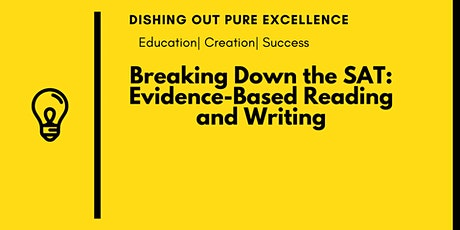 Free SAT Evidence-Based Reading and Writing Crash Course tickets