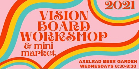 COCKTAILS & CRAFTING - 2021 VISION BOARD MAKING tickets