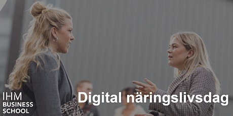Digital Näringslivsdag E-Commerce Logistiker tickets