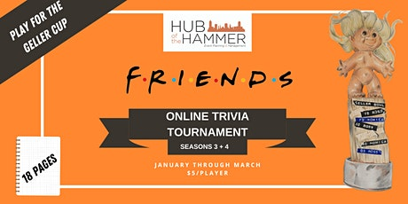 Friends Trivia Tournament - Seasons 3 + 4 tickets