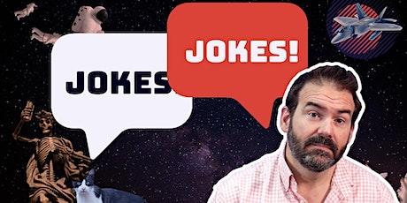 Jokes! Jokes! - Live, Free Comedy Writing Workshop tickets