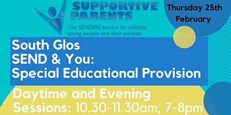 South Gloucestershire SEND and You: Special Educational Provision tickets