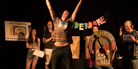 PUNDERDOME®: NYC's (and the Globe's) Comedy PUN Show! 2/4 tickets