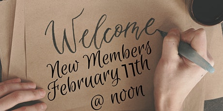 New Member's Welcome Virtual Brown Bag Lunch tickets