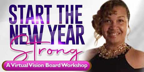 Start The New Year Strong: A Vision Board Workshop with Cassandra Mack tickets