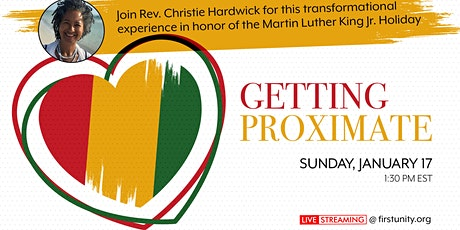 Getting Proximate - a Workshop with Rev. Christie Hardwick tickets
